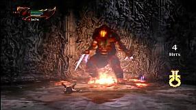 God of War III Remastered Kratos vs Hades - gameplay