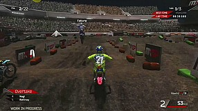 MXGP 2: The Official Motocross Videogame gameplay - indoor stadium