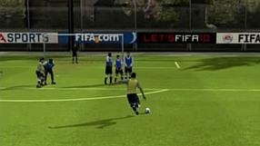FIFA 10 Rzuty wolne – Po ziemi