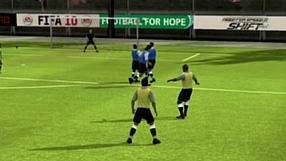 FIFA 10 Rzuty wolne – Strzał drugim zawodnikiem