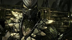 Mortal Kombat X Reptile - gameplay