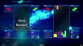 Tetris Ultimate battle mode gameplay