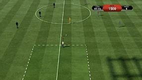 FIFA 13 gry treningowe - podanie po ziemi - poziom brązowy
