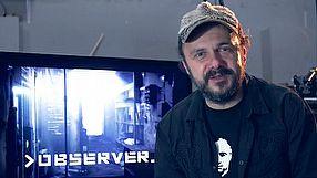 Observer Arkadiusz Jakubik w grze Observer