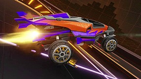 Rocket League Aftershock and Marauder