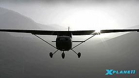 X-Plane 11 światło, odbicia i mgła