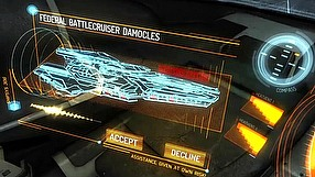 Elite: Dangerous Capital ship battle video