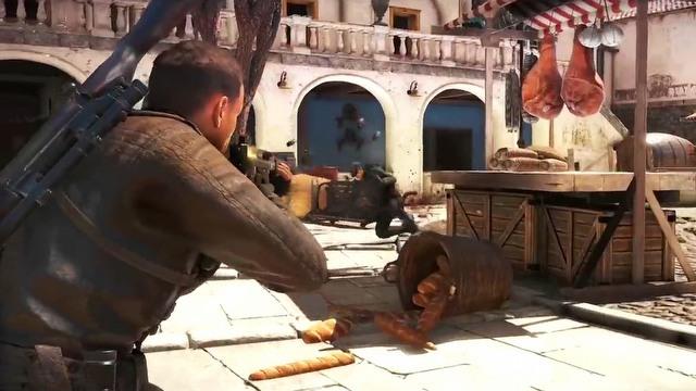 Sniper Elite 4 gameplay trailer + target: F�hrer
