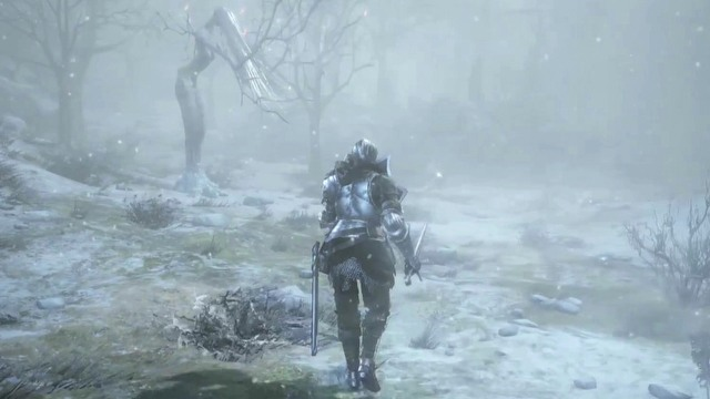 Dark Souls III: Ashes of Ariandel Divert thine eyes - gameplay