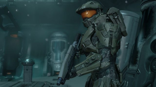 Master Chief w Halo 4. - 2014-10-26