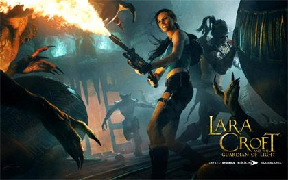 Lara Croft and the Guardian of Light tapeta Tapeta #2