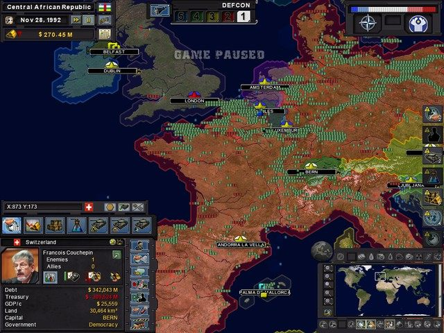 Cold War Simulation Games Online