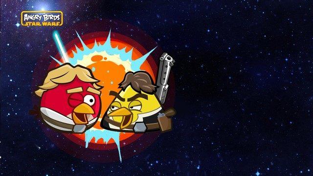 Angry Birds Star Wars tapeta #9