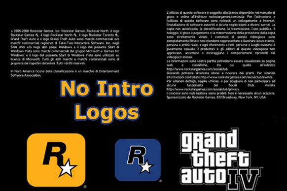 Grand Theft Auto IV mod No Intro Logos