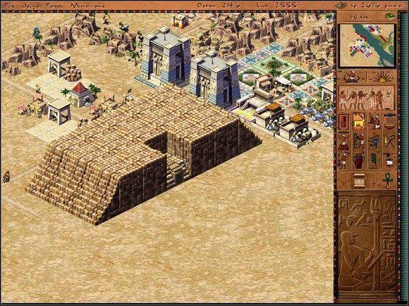 Druga ważna kwestia to eksport - Abedju (misja 7 - wersja pokojowa) - Misje - Faraon - poradnik do gry