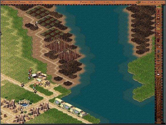 Jednym z ważniejszych celów misji jest wybudowanie floty wojennej - Bedhet (misja 7 - wersja wojenna) - Misje - Faraon - poradnik do gry