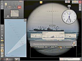 Dzieląc ten dystans przez 60 sekund otrzymujemy prędkość celu w m/s. - Wyliczenie kursu i prędkości - Torpedowanie łajb - Silent Hunter 5: Bitwa o Atlantyk - poradnik do gry