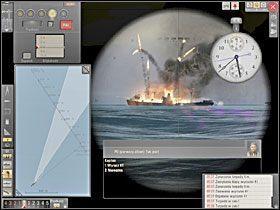 Po samoistnym odblokowaniu celu przez PO poznamy, że łajba została zniszczona (nawet jeśli nie tonie od razu). - Atak - Torpedowanie łajb - Silent Hunter 5: Bitwa o Atlantyk - poradnik do gry