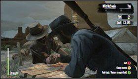 Celem gry jest dotknięcie stołu zewnętrzną częścią dłoni przeciwnika - Pozostałe   Aktywności dodatkowe - Red Dead Redemption - poradnik do gry