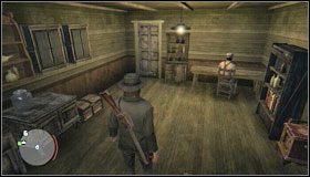 Część stroju znajdziesz w Theves Landing, w magazynie, w jednym z pomieszczeń - Stroje (1)   Aktywności dodatkowe - Red Dead Redemption - poradnik do gry