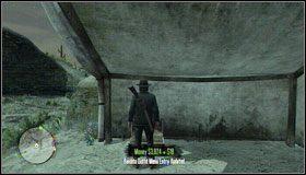 Część stroju znajdziesz w Sidewinder Gulch, w namiocie na wzniesieniu (tym po lewej) - Stroje (1)   Aktywności dodatkowe - Red Dead Redemption - poradnik do gry