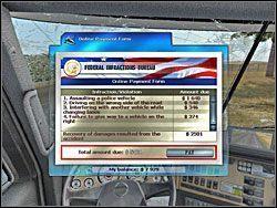 Nawet jeśli złamiesz wszystkie przepisy ruchu drogowego nie skończy się to odebraniem wirtualnego prawa jazdy. - Na trasie (2) - Garść porad - RignRoll: Tirowiec - poradnik do gry