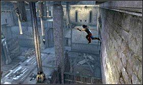 ...i przesuń się do końca - Stajnie - Opis przejścia - Prince of Persia: Zapomniane Piaski - poradnik do gry