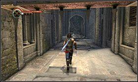 Znajdziesz się w korytarzu z pułapkami - Stajnie - Opis przejścia - Prince of Persia: Zapomniane Piaski - poradnik do gry