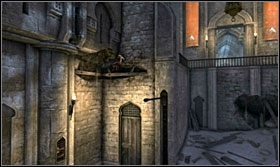 Tę samą akrobację wykonaj po drugiej stronie pomieszczenia - Stajnie - Opis przejścia - Prince of Persia: Zapomniane Piaski - poradnik do gry