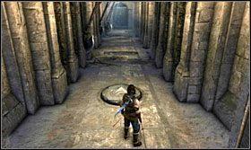 Znajdziesz się w wąskim korytarzu - Stajnie - Opis przejścia - Prince of Persia: Zapomniane Piaski - poradnik do gry