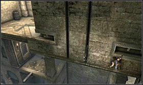 Wejdź na górę i odbij się w kierunku ściany - The Works (2) - Opis przejścia - Prince of Persia: Zapomniane Piaski - poradnik do gry