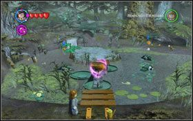 Użyj zaklęcia (WL ) na liściach wodnych, by te się powiększyły #1 - Zamek Hogwart #6 | Opis przejścia - Rok 3 - LEGO Harry Potter Lata 1-4 - poradnik do gry