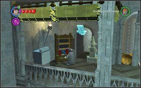 Oddzielisz się od reszty, natrafisz na Freda i Georgea, którzy wręczą Ci Mapę Huncwotów - Zamek Hogwart #6 | Opis przejścia - Rok 3 - LEGO Harry Potter Lata 1-4 - poradnik do gry