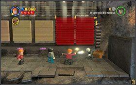 Wznieś pochodnie #1 (WL ) w pobliże diabelskich sideł, aby te upuściły platformy, przejdź po nich dalej - Hogsmeade | Opis przejścia - Rok 3 - LEGO Harry Potter Lata 1-4 - poradnik do gry