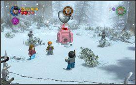 Staniesz do walki na śnieżki przeciwko Draco - Hogsmeade | Opis przejścia - Rok 3 - LEGO Harry Potter Lata 1-4 - poradnik do gry
