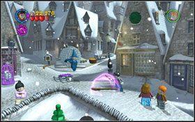 9 - Hogsmeade | Opis przejścia - Rok 3 - LEGO Harry Potter Lata 1-4 - poradnik do gry