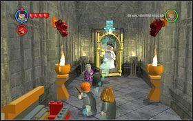 Rozpoczynasz w holu głównym (M1 - Zamek Hogwart #7 | Opis przejścia - Rok 3 - LEGO Harry Potter Lata 1-4 - poradnik do gry
