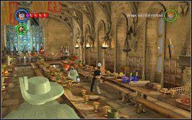 3 wielka sala bonusy hogwart lego harry potter lata for Sala pranzo harry potter