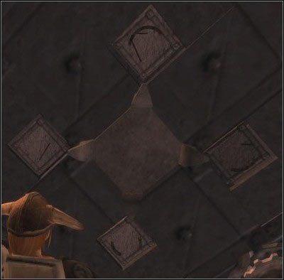 Po wejściu do skarbca okaże się, że korony już tutaj nie ma - Zamek Nadoret (2) - Zadania główne - Drakensang: The River of Time - poradnik do gry