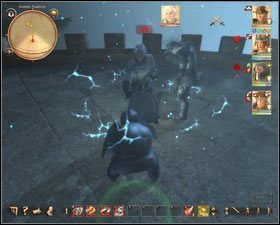 W walce z posągiem skuteczna jest magia - Zamek Nadoret (2) - Zadania główne - Drakensang: The River of Time - poradnik do gry