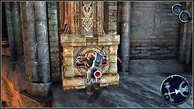 Do podpaleniu granatu używamy Gwiazdy i pobliskie pochodnie [1] - Katedra Zmierzchu (3) - Opis przejścia - Darksiders - PC - poradnik do gry