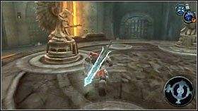 Po drugiej stronie znajdziemy pierwszy kryształowy miecz [1] - Katedra Zmierzchu (3) - Opis przejścia - Darksiders - PC - poradnik do gry
