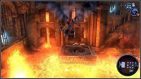 Gdy rzucimy w niego Gwiazdą , wysepki zaczną się podnosić [1] - Katedra Zmierzchu (4) - Opis przejścia - Darksiders - PC - poradnik do gry