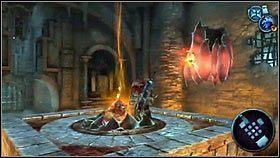 Pojawi się platforma, a na niej bomba [1] - Katedra Zmierzchu (4) - Opis przejścia - Darksiders - PC - poradnik do gry