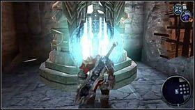 Teraz możemy bez przeszkód wskoczyć do drugiej z poprzednio odblokowanych dziur [1] - Katedra Zmierzchu (4) - Opis przejścia - Darksiders - PC - poradnik do gry