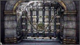Wracamy do pomieszczenia z rzeźbami [1] i odkładamy miecz na swoje miejsce - Katedra Zmierzchu (4) - Opis przejścia - Darksiders - PC - poradnik do gry