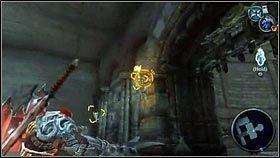 Dalszą drogę blokuje czerwona narośl [1] - Nadzorca - Opis przejścia - Darksiders - PC - poradnik do gry