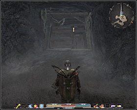 Uwa�aj, bo w kolejnej jaskini napadni�ty zostaniesz przez szkielety pod dow�dztwem obdarzonego magicznymi zdolno�ciami w�adcy krypty #1 - P�nocne Stewark (4) - Zadania g��wne - Arcania: Gothic 4 - poradnik do gry