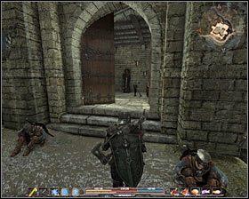 Po dotarciu na miejsce porozmawiaj z wartownikiem Normanem #1 (M4, 11), a po kr�tkiej chwili zostaniesz wpuszczony na zamkowy dziedziniec - Srebrow�d (1) - Zadania g��wne - Arcania: Gothic 4 - poradnik do gry