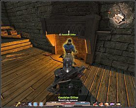 Skorzystaj ze schod�w #1 w celu przedostania si� na pi�tro - Srebrow�d (1) - Zadania g��wne - Arcania: Gothic 4 - poradnik do gry